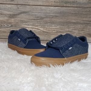 New Vans Chukka Low Denim Blue Sneakers